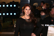 Lucy Pinder attends the Royal Film Performance of 'The Hobbit: An Unexpected Journey' at Odeon Leicester Square on December 12, 2012 in London, England.