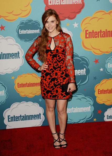 Holland Roden Actress Holland Roden attends Entertainment Weekly's Annual Comic-Con Celebration at Float at Hard Rock Hotel San Diego on July 20, 2013 in San Diego, California.