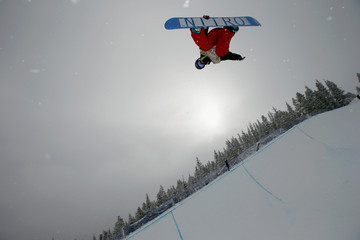 Holly Crawford US Snowboarding and Freeskiing Grand Prix: Day 1