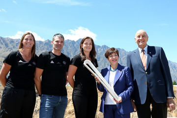 Holly Robinson Patsy Reddy NZOC Commonwealth Games Queen's Baton Relay Function QT