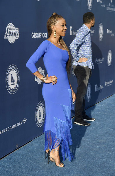 5th Anniversary Los Angeles Dodgers Foundation Blue Diamond Gala - Blue Carpet