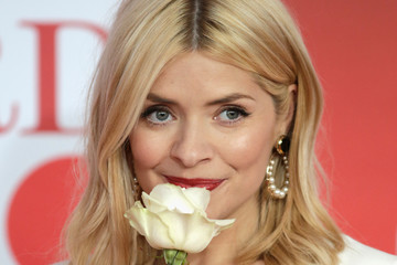 Holly Willoughby The BRIT Awards 2018 - Red Carpet Arrivals