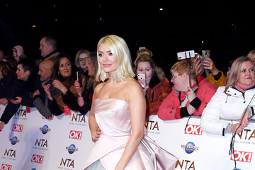 Holly Willoughby National Television Awards 2020 - Red Carpet Arrivals