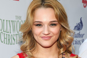 Actress Hunter King attends The Hollywood Christmas Parade Benefiting Toys For Tots Foundation on December 1, 2013 in Hollywood, California.