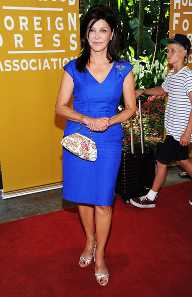 Actress Shohreh Aghdashloo arrives at The Hollywood Foreign Press Association's 2011 Installation Luncheon at Beverly Hills Hotel on August 4, 2011 in Beverly Hills, California.