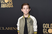 Jacob Tremblay attends the Hollywood Foreign Press Association and The Hollywood Reporter Celebration of the 2020 Golden Globe Awards Season and Unveiling of the Golden Globe Ambassadors at Catch on November 14, 2019 in West Hollywood, California.