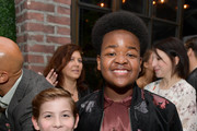 (L-R) Jacob Tremblay and Keith L. Williams attend the Hollywood Foreign Press Association and The Hollywood Reporter Celebration of the 2020 Golden Globe Awards Season and Unveiling of the Golden Globe Ambassadors at Catch on November 14, 2019 in West Hollywood, California.
