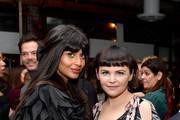 (L-R) Jameela Jamil and Ginnifer Goodwin attend the Hollywood Foreign Press Association and The Hollywood Reporter Celebration of the 2020 Golden Globe Awards Season and Unveiling of the Golden Globe Ambassadors at Catch on November 14, 2019 in West Hollywood, California.