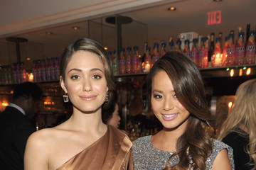 """Emmy Rossum Jamie Chung The Hollywood Foreign Press Association And InStyle Celebrate """"A Night of Firsts"""" And The New Miss Golden Globe 2012 Season"""