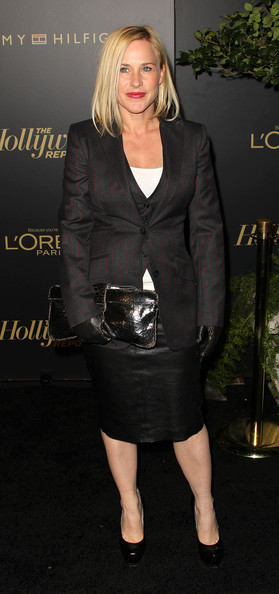 Actress Patricia Arquette attends The Hollywood Reporter's Nominees' Night Party at the Getty House on February 24, 2011 in Los Angeles, California.