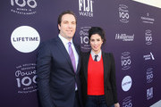 THR Editorial Director Matthew Belloni and Sarah Silverman attend The Hollywood Reporter's 2017 Women In Entertainment Breakfast at Milk Studios on December 6, 2017 in Los Angeles, California.