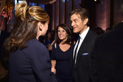 Writer Lisa Oz and Dr. Mehmet Oz attend The Hollywood Reporter's 5th Annual 35 Most Powerful People in New York Media on April 6, 2016 in New York City.