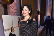 Model Karen Duffy attends The Hollywood Reporter's 5th Annual 35 Most Powerful People in New York Media on April 6, 2016 in New York City.