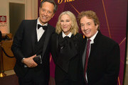 (L-R) Richard E. Grant, Catherine O'Hara and Martin Short attend The Hollywood Reporter's 7th Annual Nominees Night presented by Mercedes-Benz, Century Plaza Residences, and Heineken USA at CUT on February 4, 2019 in Beverly Hills, California.