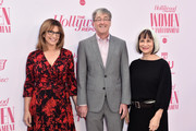 (L-R) TV personality Carol Costello, Timothy Law Snyder, and Peggy Rajski attend The Hollywood Reporter's Power 100 Women in Entertainment at Milk Studios on December 11, 2019 in Hollywood, California.