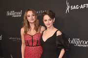 Hunter King and Joey King attend The Hollywood Reporter And SAG-AFTRA Emmy Award Contenders Annual Nominees Night on September 20, 2019 in Beverly Hills, California.