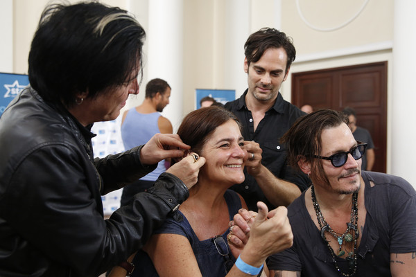 The Hollywood Vampires and Starkey Hearing Foundation Bring the Gift of Hearing