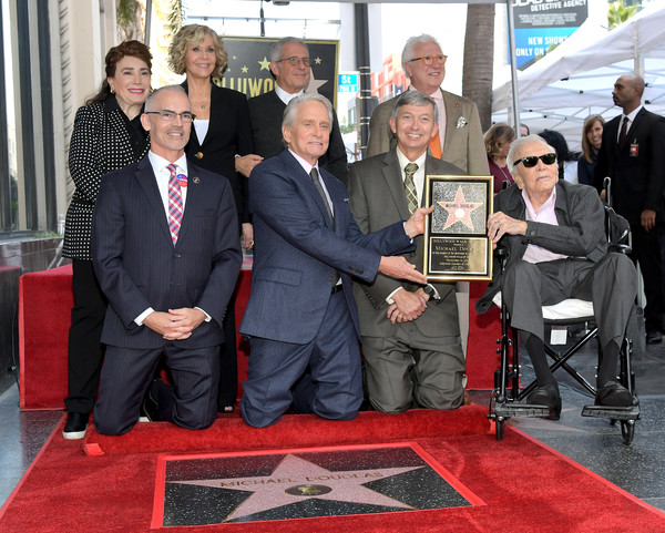 Hollywood Walk Of Fame Ceremony Honoring Michael Douglas - 21 of 24