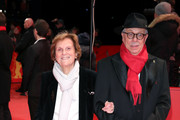 (L-R) Director Liliana Cavani and festival director Dieter Kosslick arrive for the Hommage Charlotte Rampling Honorary Golden Bear award ceremony during the 69th Berlinale International Film Festival Berlin at Berlinale Palace on February 14, 2019 in Berlin, Germany. Rampling is this years recipient of the Honorary Golden Bear Award of the Berlinale.