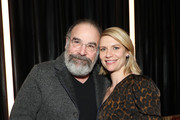 "Mandy Patinkin and Claire Danes attend the ""Homeland"" Season 8 Premiere After Party at The Lobster Club on February 04, 2020 in New York City."