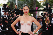 Adriana Lima in Alexandre Vauthier Couture - The Most Beautiful Dresses From the 2014 Cannes Film Festival