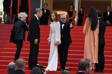 Hong Sangsoo Claire Denis 'The Meyerowitz Stories' Red Carpet Arrivals - The 70th Annual Cannes Film Festival