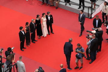 Hong Sangsoo 'The Day After (Geu Hu)' Red Carpet Arrivals - The 70th Annual Cannes Film Festival