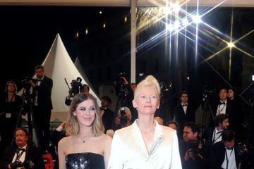 Honor Swinton Byrne 'Parasite' Red Carpet - The 72nd Annual Cannes Film Festival