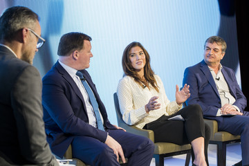 Hope Solo Inaugural Sports, Politics, And Integrity Conference Run By the Foundation For Sports Integrity (FFSI)