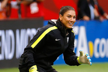 Hope Solo Final Training Sessions - FIFA Women's World Cup 2015