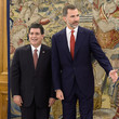 Horacio Manuel Cartes Jara King Felipe VI of Spain Meets President of Paraguay