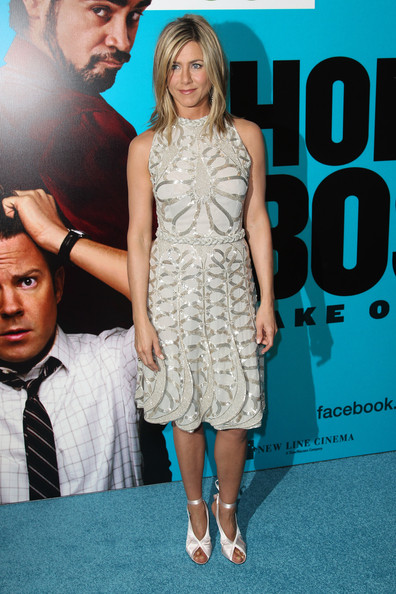 (UK TABLOID NEWSPAPERS OUT) Jennifer Aniston attends the UK premiere of Horrible Bosses at The BFI Southbank on July 20, 2011 in London, England.