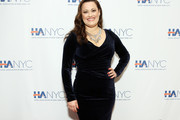 """Actress and singer Ashley Brown attends the """"Red Carpet Hospitality Gala,"""" hosted by the Hotel Association Of New York City at JW Marriott Essex House on November 26, 2018 in New York City. (Photo by Monica Schipper/Getty Images for Hotel Association of New York City (HANYC))"""