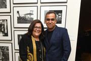 """Fern Mallis and Bibhu Mohapatra attend the """"Hotel Mumbai"""" New York Screening after party at The Times Square EDITION on March 17, 2019 in New York City."""