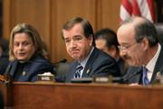 (L-R) House Foreign Affairs Committee member Rep. Ileana Ros-Lehtinen, Chairman Ed Royce (R-CA) and ranking member Rep. Eliot Engle (D-NY) attend a hearing about Cuba policy in the Rayburn House Office Building on Capitol Hill February 4, 2015 in Washington, DC. The committee heard testimony on the impact of U.S. policy changes toward Cuba and Assistant Secretary of State For Western Hemisphere Affairs Roberta Jacobson's recent trip to Havana to begin the reestablishment of diplomatic ties between the former Cold War enemies.