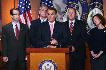 Scott Rigell House Republicans Hold News Conference On Job Creation