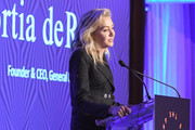 Founder & CEO, General Public, Portia de Rossi receives the Design Entrepreneur Award onstage during the Housing Works' Groundbreaker Awards Dinner 2019 on April 24, 2019 in New York City.