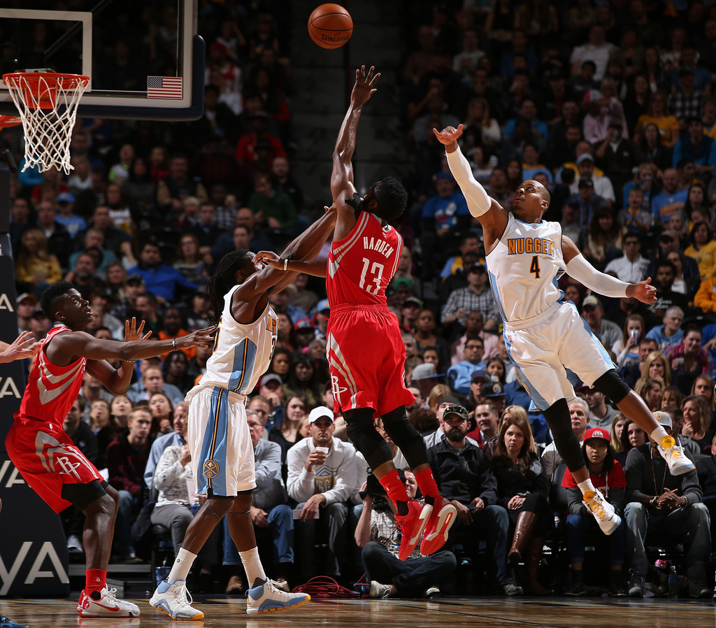 Kenneth Faried In Houston Rockets V Denver Nuggets