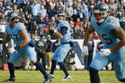 Quarterback Ryan Tannehill #17 of the Tennessee Titans drops back to throw a pass against the Houston Texans during the first half at Nissan Stadium on December 15, 2019 in Nashville, Tennessee.