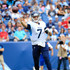 Blaine Gabbert Photos - Blaine Gabbert #7 of the Tennessee Titans throws a pass during the fourth quarter at Nissan Stadium on September 16, 2018 in Nashville, Tennessee. - Houston Texans vs. Tennessee Titans