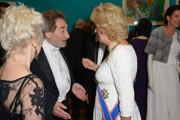 Howard Jacobson The Duchess of Cornwall Attends the Royal Academy of Arts Annual Dinner