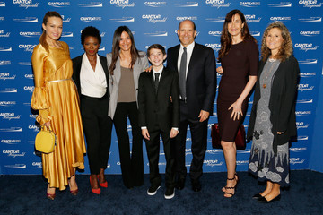 Howard Lutnick Allison Lutnick Annual Charity Day Hosted By Cantor Fitzgerald, BGC and GFI - Cantor Fitzgerald Office - Arrivals