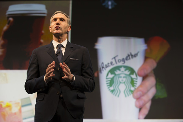 Starbucks Holds Annual Shareholders Meeting []