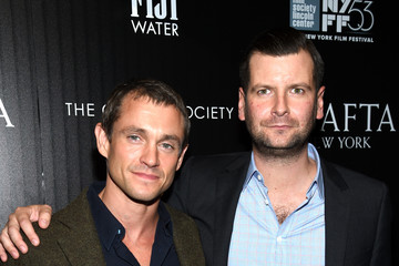 Hugh Dancy Luke Parker Bowles BAFTA New York & The Cinema Society With FIJI Water & St-Germain Host A Party For The New York Film Festival