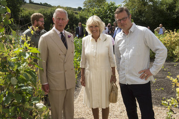 Hugh Fearnley-Whittingstall Prince Charles Visits Devon and Cornwall
