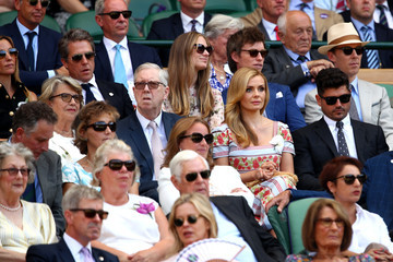Hugh Grant Day Thirteen: The Championships - Wimbledon 2018