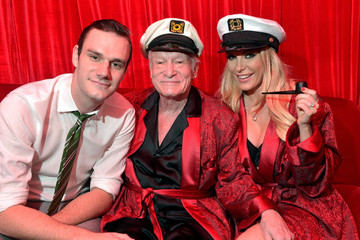 Hugh Hefner Playboy Mansion Hosts Annual Halloween Bash
