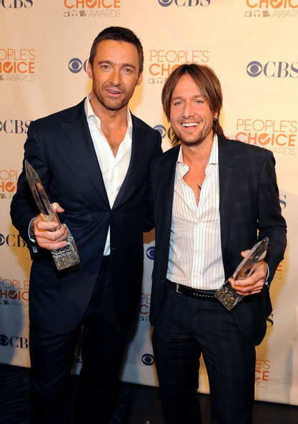 Photo of Hugh Jackman & his friend musician  Keith Urban  - Longtime