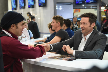 Hugh Jackman The 'Pan' Autograph Signing at Comic-Con International 2015
