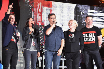 Hugh Jackman 2014 Global Citizen Festival In Central Park To End extreme Poverty By 2030 - Show